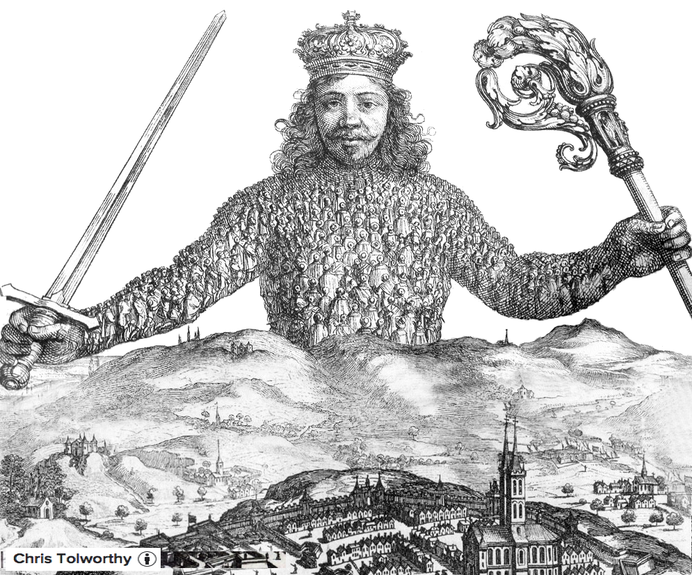 thomas hobbes leviathan He that is to govern a whole nation, must read in himself, not this, or that particular man but mankind leviathan is both a magnificent literary achievement and the greatest work of political philosophy in the english language permanently challenging, it has found new applications and new refutations in every generation.